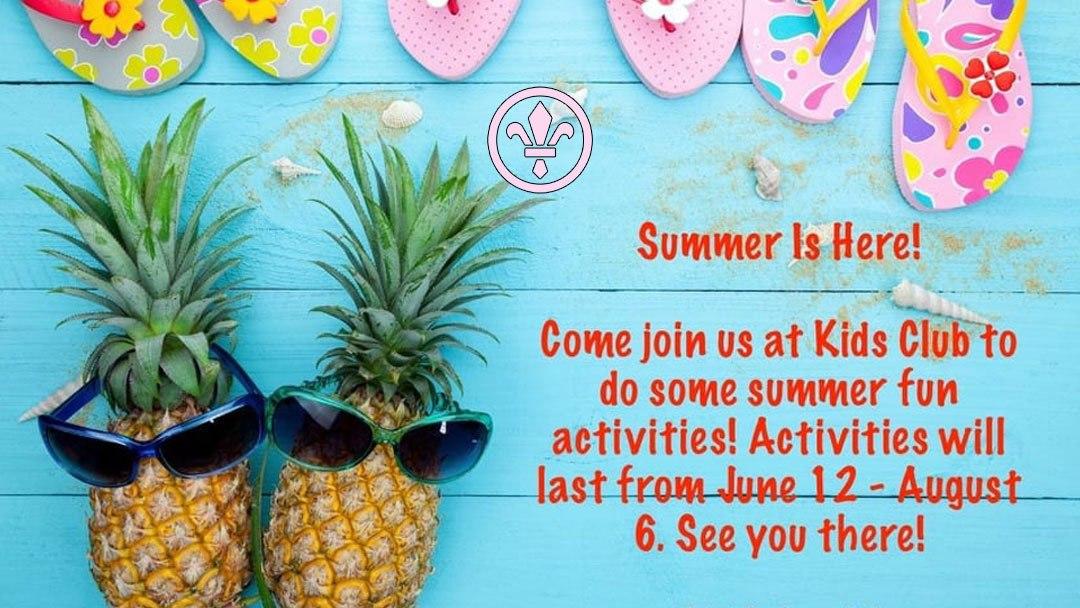 A Summer Of Fun At Kids Club